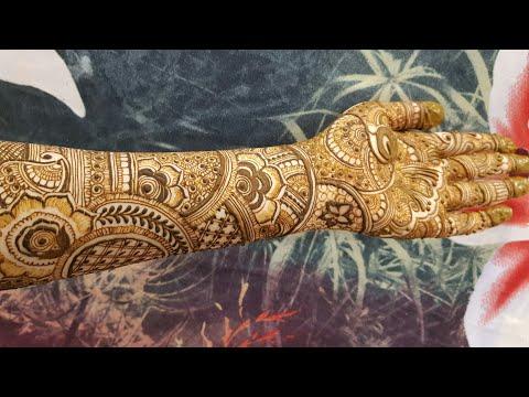 Download New Bridal Henna Design For Front Side Part 1 2018