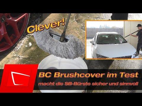 Auto Waschhaube BC Brushcover im Test - Auto in SB-BOX waschen