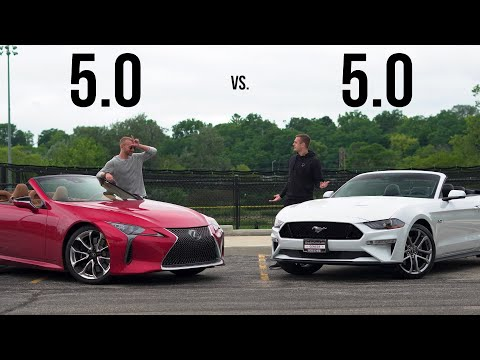 Lexus LC500 vs Ford Mustang GT - How Similar Could They Be?