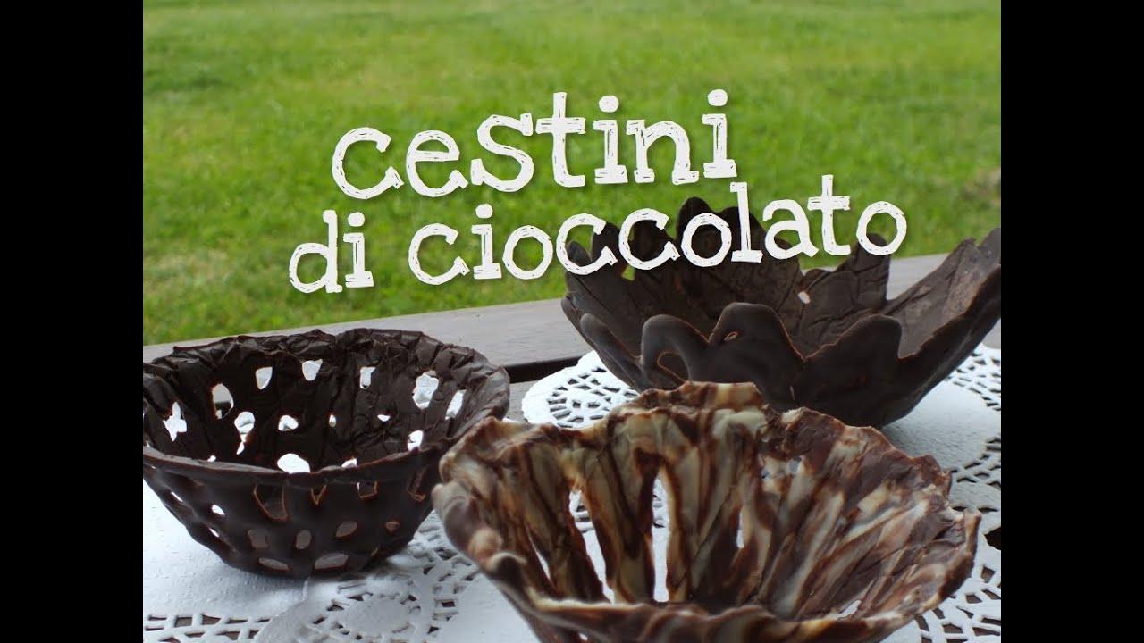 Cestini di Cioccolato per il Dessert ♥ VIDEORICETTA