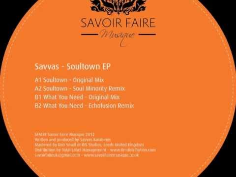 Savvas - What You Need