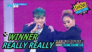 [HOT] WINNER - REALLY REALLY, 위너 - 릴리릴리 Show Music core 20170506