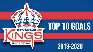 Top 10 Prince George Spruce Kings Goals of 2019-20
