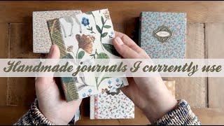 Handmade Journals I Currently Use | The Quiet Rebel Journals