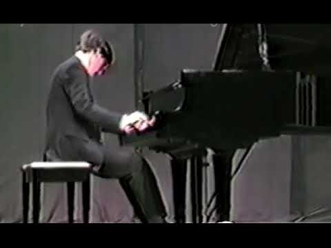 Joseph Brodtan in performance of Franz Liszt - The Mephisto Waltz.