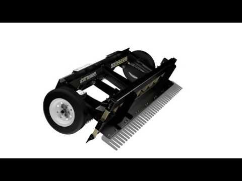 SR3 Command Series – Skid Steer Rake – 360 View