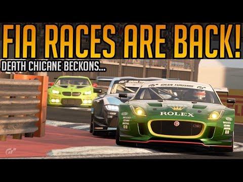 Gran Turismo Sport: Kicking FIA Races Off at Death Chicane