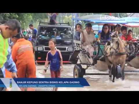 Banjir Kepung Sentra Bisnis Kelapa Gading