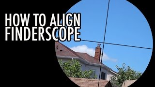 How to Align a Finderscope for New Astronomers
