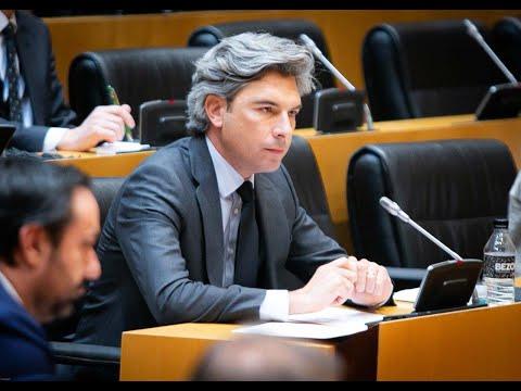 Andrés Lorite, en la Comisión de Transportes, Movilidad y Agenda Urbana
