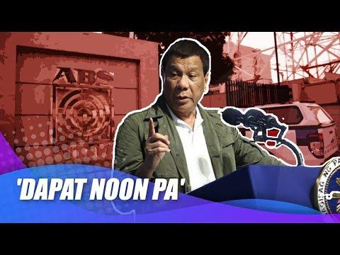 [News5]  Palasyo sa paghingi ng paumanhin ng ABS-CBN