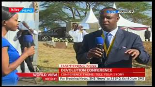 Local and international participants in Naivasha for annual Devolution Conference