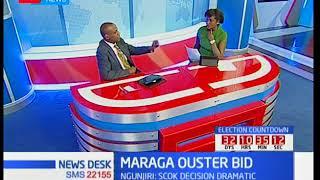 Mutula Kilonzo Junior senator Makueni county on Maraga Ouster bid