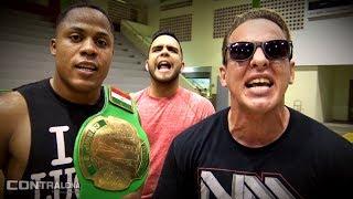 BJ, Bellito y Max Daniels listos para chocar ante el Team Momia en CWS