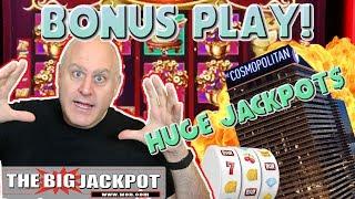 🎰NEVER SEEN! 🎰Bonus Play from Las Vegas! 💸MY BIGGEST JACKPOT on Dancing Drums   The Big Jackpot