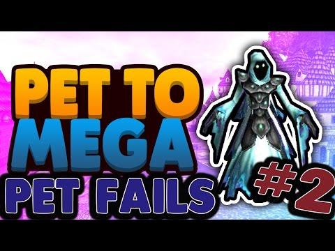 Wizard101 Pets: Baby To Mega (New Rain Core Pet) 1st Gen Talents