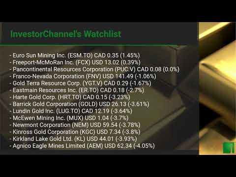 InvestorChannel's Gold Watchlist Update for Monday, July 1 ... Thumbnail