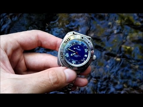 Vostok Amphibia: Uhr für den härtesten Outdoor-Einsatz
