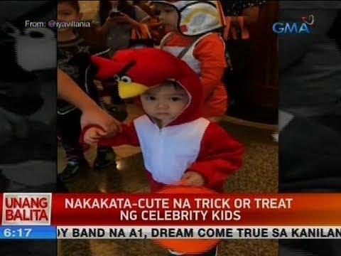 [GMA]  UB: Nakakata-cute na trick or treat ng celebrity kids