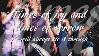 ABBA - The Way Old Friends Do with Lyrics