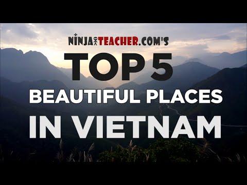 Video Top 5 Most Beautiful Places In Vietnam To Visit While Teaching English (Sapa, Halong Bay, Ninh Binh)