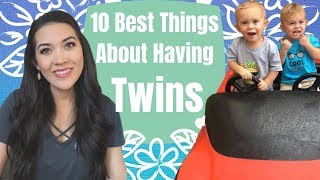 10 BEST THINGS ABOUT HAVING TWINS | What It's Like to Have Twins| Benefits of Having Twins