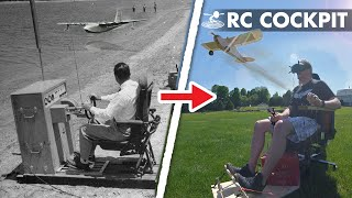 Building a Cockpit to Fly RC Planes?? 😱