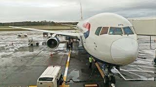 TRIP REPORT | Final British Airways Boeing 767  Edinburgh to Heathrow flight | October 31st 2018