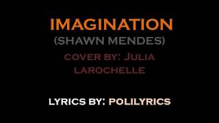 Imagination (Shawn Mendes)   Cover By Julia Larochelle (LYRICS VIDEO)