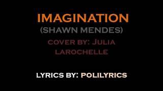 Imagination (Shawn Mendes)   Cover By Julia Larochelle (LYRICS VIDEO)