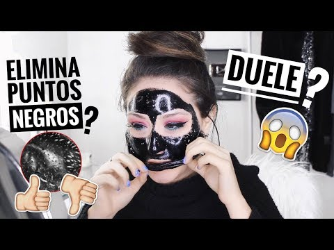 LA MEJOR MASCARILLA PARA PUNTOS NEGROS??! ( Me sorprendí )😱 | Melina Quiroga Makeup