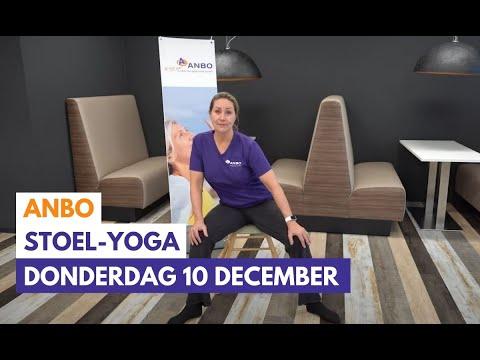 Stoelyoga met Monique - donderdag 10 december