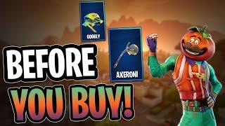 Tomatohead | Axeroni Tool | Googly Glider - Before You Buy - Fortnite