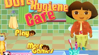 Online Dora The Explorer Games - Dora Hygiene Game