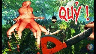 THE FOREST ONLINE #4: ỐI DỒI ÔI QUÁI VẬT, QUÁI VẬT AE ƠI AAAA..