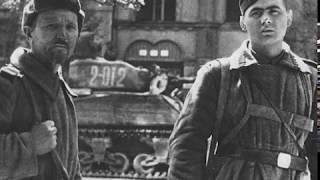Военная песня - Прожектор шарит осторожно по пригорку