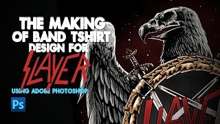The Making Of Band T Shirt For Slayer With English Subtitle