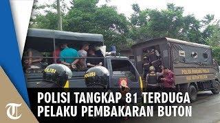 Polisi Tangkap 81 Terduga Pelaku Pembakaran di Buton
