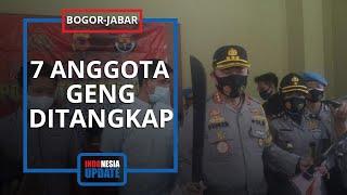 Buntut Viral Video Penyerangan Geng Motor di Bogor, 7 Orang Ditangkap dan 20 Lainnya Masih Diburu