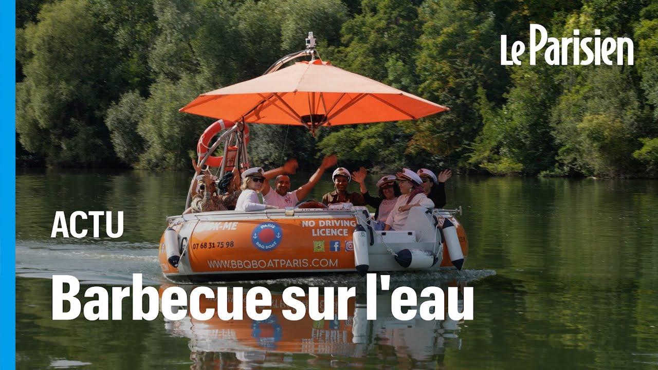 Les bateaux-barbecue : le succès des croisières sur la Seine tout en grillant des saucisses