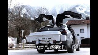 Mit dem TESLA Model X und der MFT BackBox in den Skiurlaub - Tutorial