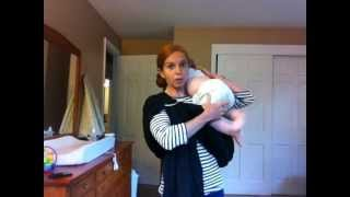 Hip Carry in a Ring Sling