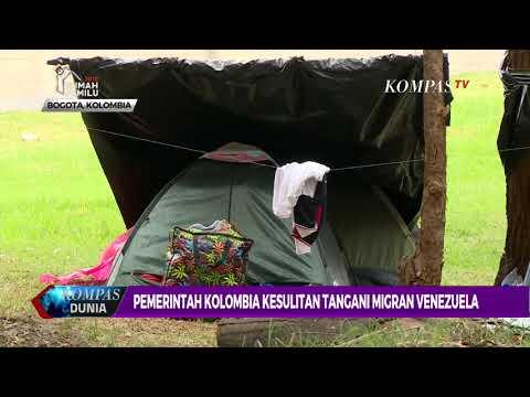 Pemerintah Kolombia Kewalahan Tangani Migran Venezuela