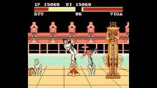 Street Fighter II - The World Warrior NES (Unl) - Real Time Playthrough
