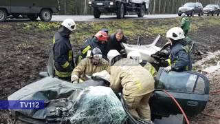 4 человека пострадали в ДТП на М8