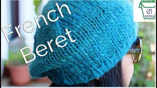 how-to-knit-a-basic-french-beret-for-beginners