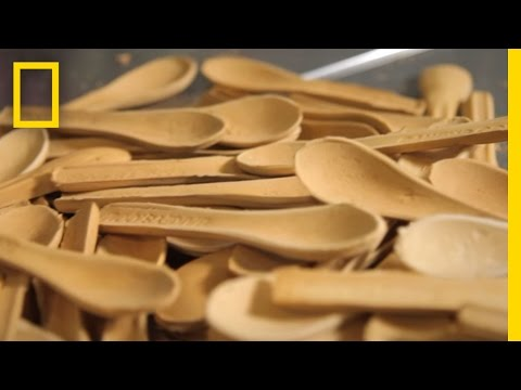 A Spoon You Can Eat Is a Tasty Alternative to Plastic Waste | Short Film Showcase