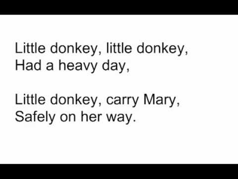 little donkey ltas version - Dominick The Christmas Donkey Lyrics