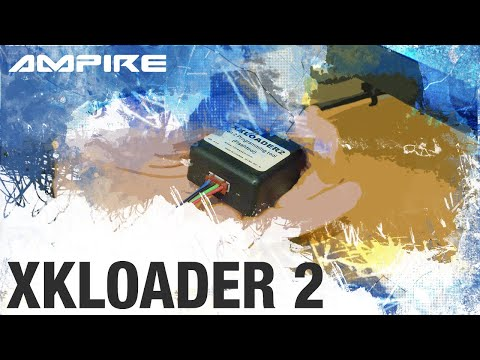 AMPIRE XKLOADER2 Programmier-System für Autoalarmanlagen per PC