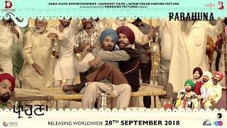 Parahuna - Making Of Harby Sangha | Punjabi Comedy Movie | 28th September